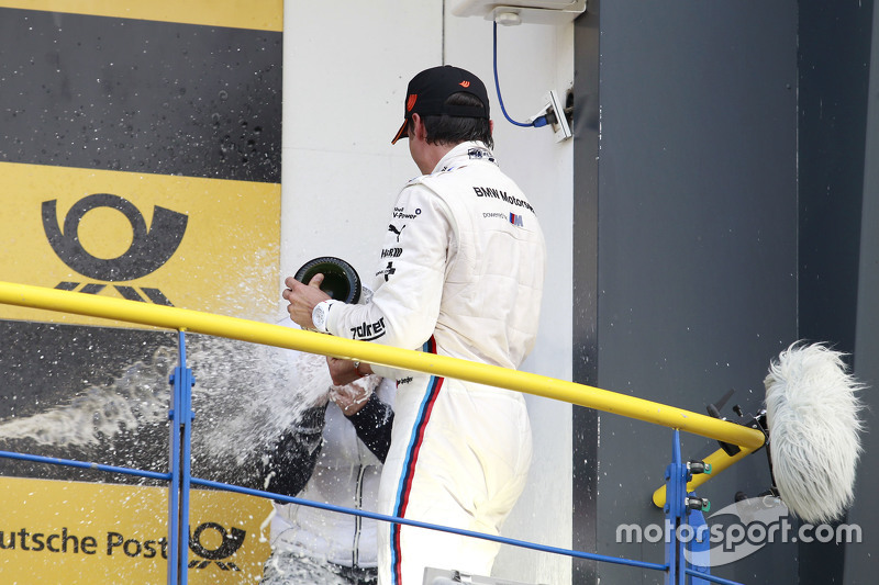 Podium: Bruno Spengler, BMW Team MTEK, BMW M4 DTM