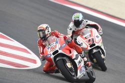 Michele Pirro, Ducati Team, und Danilo Petrucci, Pramac Racing Ducati