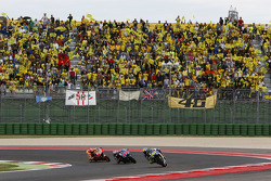 Valentino Rossi y Jorge Lorenzo, Yamaha Factory Racing y Marc Márquez, Repsol Honda Team
