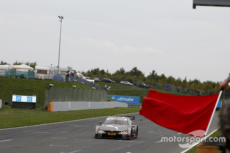 Winner Tom Blomqvist, BMW Team RBM BMW M4 DTM