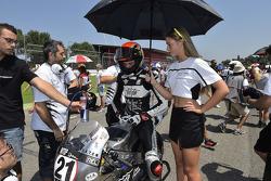 L'ombrellina di Fabio Di Giannantonio, MTR Moto.GP Team