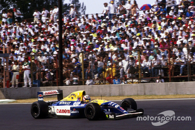 Nigel Mansell, Williams en México 92