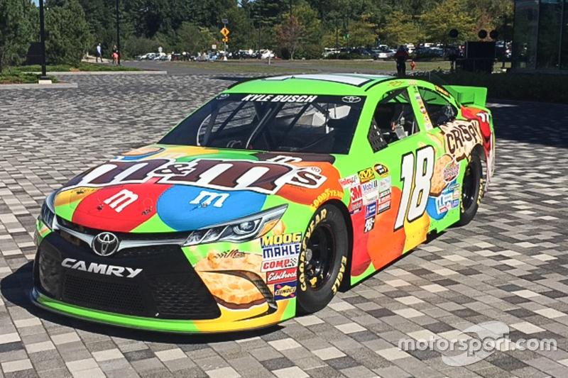 Kyle Busch, Joe Gibbs Racing Toyota visited ESPN