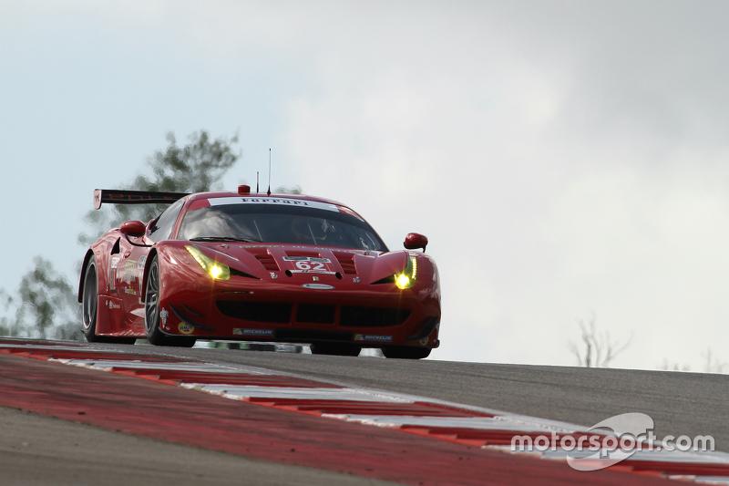 #62 Risi Competizione Ferrari F458: П'єр Каффер, Джанкарло Фізікелла