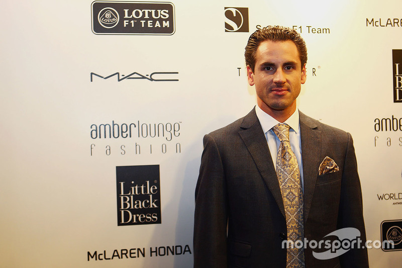 Adrian Sutil, Williams, Test- und Ersatzfahrer, bei der Modenschau Amber Lounge