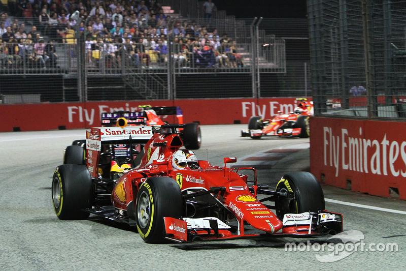 Sebastian Vettel y Ferrari