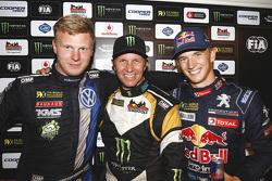 Podium: 1. Petter Solberg; 2. Johan Kristoffersson; 3. Timmy Hansen