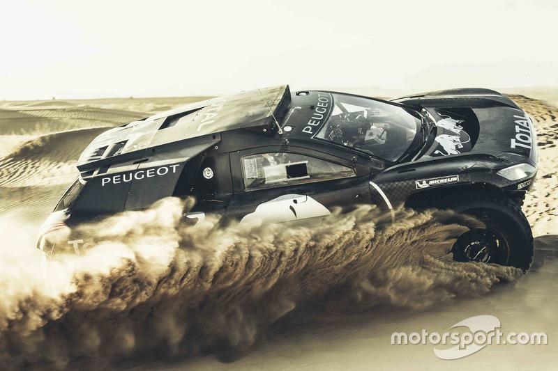 Карлос Сайнс, Peugeot 2008 DKR16