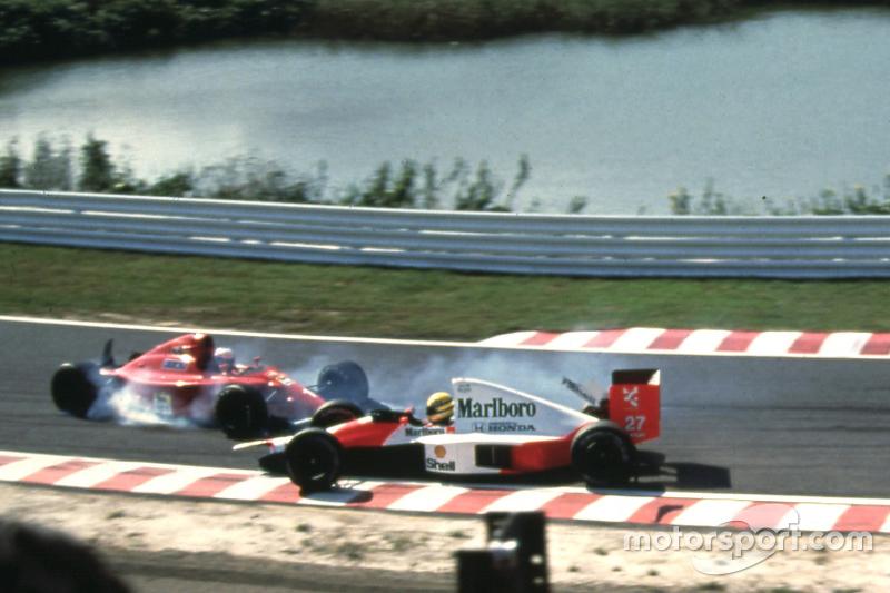 GP do Japão de 1990: o acidente entre Prost e Senna