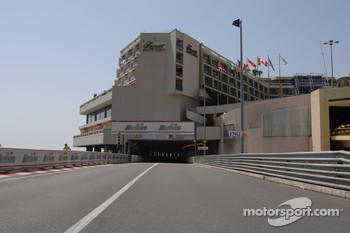 No DRS in Monaco tunnel