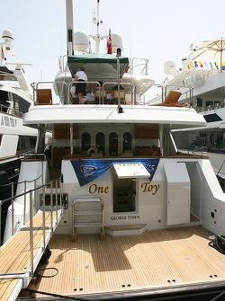 Boat of Kimi Raikkonen, Scuderia Ferrari,