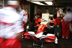 Toyota F1 Team, at work