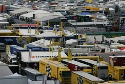 A fully packed Nürburgring paddock
