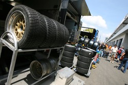 Tires ready for the weekend