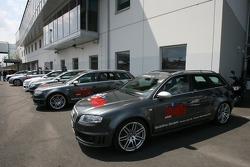 Audi service vehicles