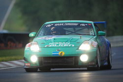 #33 Falken Motorsports Nissan Z33: Peter Dumbreck, Dirk Schoysman, Tetsuya Tanaka, Kazuki Hoshino
