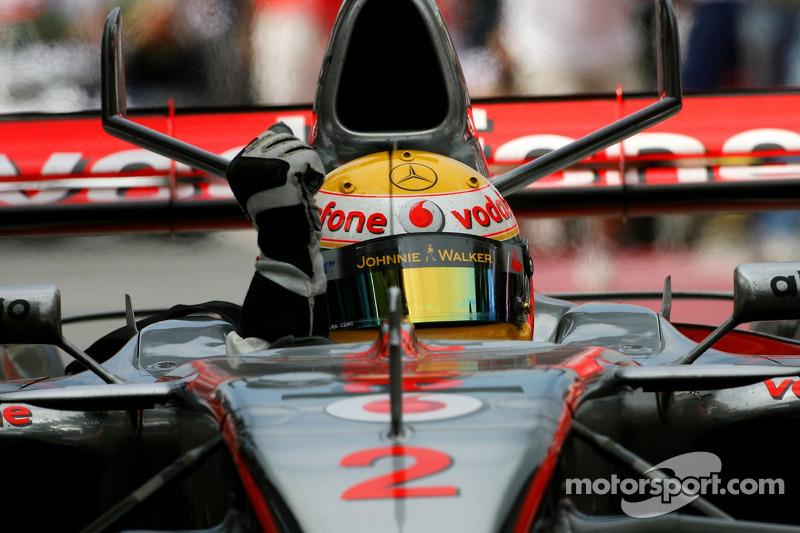 Lewis Hamilton consigue su primera 'pole position' en Canadá 2007 con el McLaren MP4-22