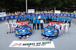 #54 Team Oreca Saleen S7R: Franco Groppi, Nicolas Prost, Jean-Philippe Belloc, #55 Team Oreca Saleen S7R: Nicolas Prost, Soheil Ayari, Nicolas Lapierre