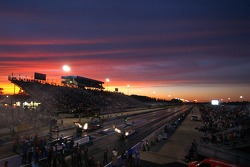 Sunset over Summit Racing Equipment Motorsports Park