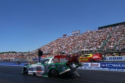 John Force and Jeff Arend