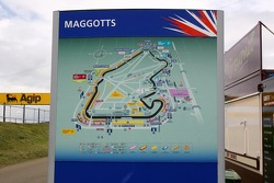 Silverstone logoage, A map, circuit