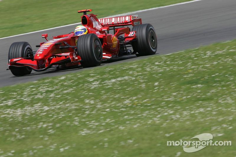 Felipe Massa, Scuderia Ferrari, F2007 at British GP