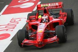 Kimi Räikkönen, Scuderia Ferrari, F2007