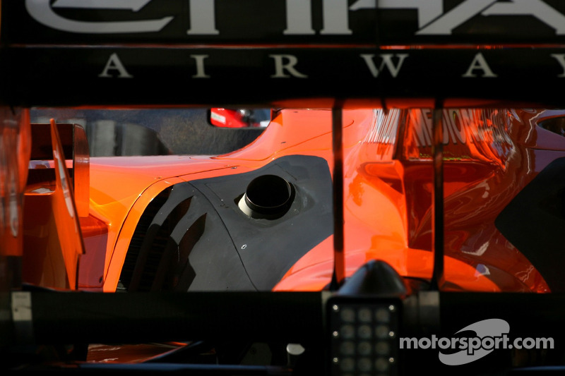 Маркус Вінкельхок, Spyker F1 Team, F8-VII
