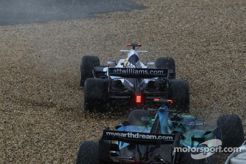 Dreher: Nico Rosberg, Williams FW29