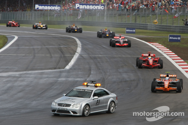 Маркус Вінкельхок, Spyker F1 Team, F8-VII, Феліпе Масса, Scuderia Ferrari, F2007