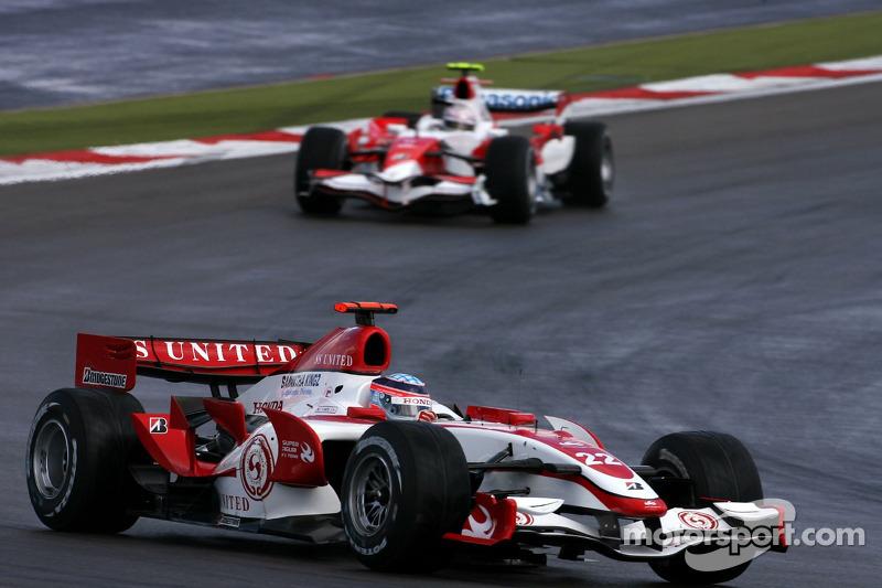 Такума Сато, Super Aguri F1 Team
