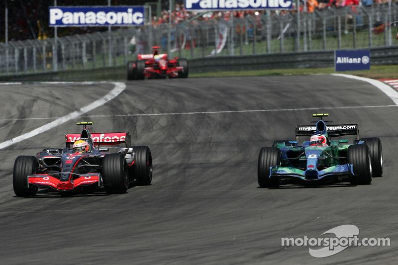 Феліпе Масса, Scuderia Ferrari, F2007, Рубенс Баррікелло, Honda Racing F1 Team, RA107