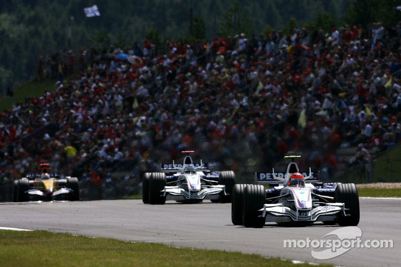 Роберт Кубіца, НІк Хайдфельд, BMW Sauber F1 Team