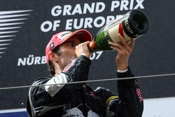 Tercer lugar Mark Webber, Red Bull Racing