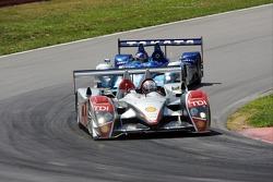 #1 Audi Sport North America Audi R10 TDI Power: Rinaldo Capello, Allan McNish, #9 Highcroft Racing A