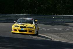 #64 MSC-Rhön e.V. i. AvD BMW M3 - E46: Pierre de Thoisy, Thierry Depoix, Philippe Haezebrouck