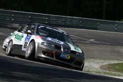 #106 MS Racing Seat Leon: Sebastian Tschornia, Florian Stoll, Sven Müller