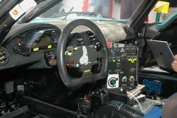 Cockpit of the Vitaphone Racing Team Maserati MC 12 GT1