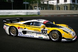 #103 Gravity Racing International Mosler MT 900: Vincent Radermecker, David Dermont, Olivier Muytjens, Loris De Sordi