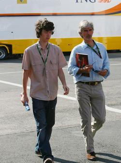 Damon Hill and Joshua Hill