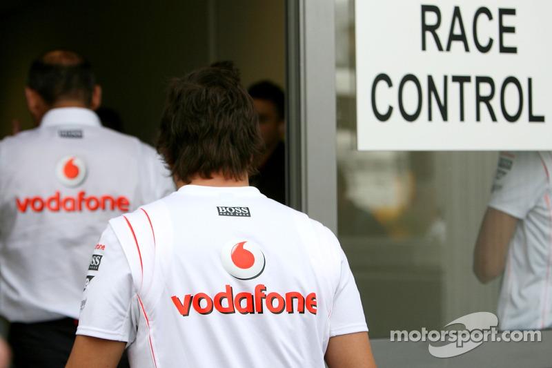 Controversia en el GP de Hungría