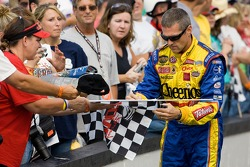 Bobby Labonte signs some autographs for fans