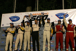 The podium: LM GT1