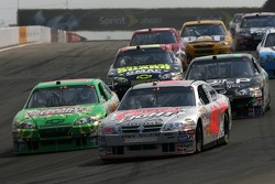 J.J. Yeley and David Stremme battle