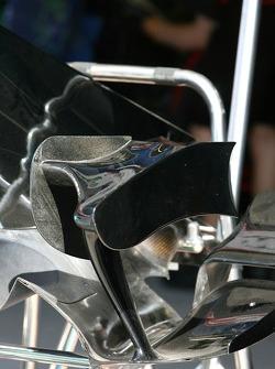 Honda Racing F1 Team, RA107, winglet