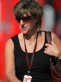 Ann Neal, Girlfriend / Manager of Mark Webber, Red Bull Racing