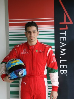 Chris Alajajian, driver of A1 Team Lebanon
