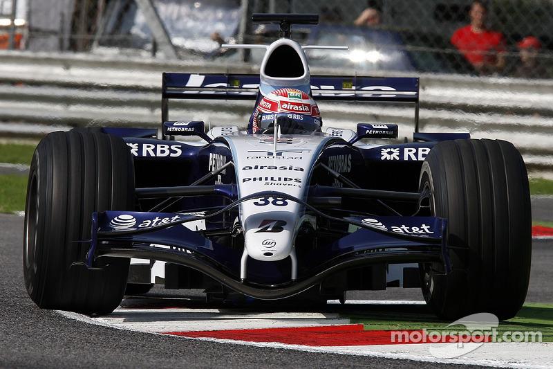 Казуки Накаджима, Williams F1 Team
