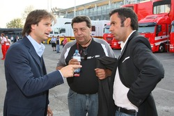 Danny Bahar, Scuderia Ferrari, Head, Marketing ve Tony Teixeira, A1GP