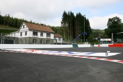 Spa-Francorchamps track walk: changes to the first corner